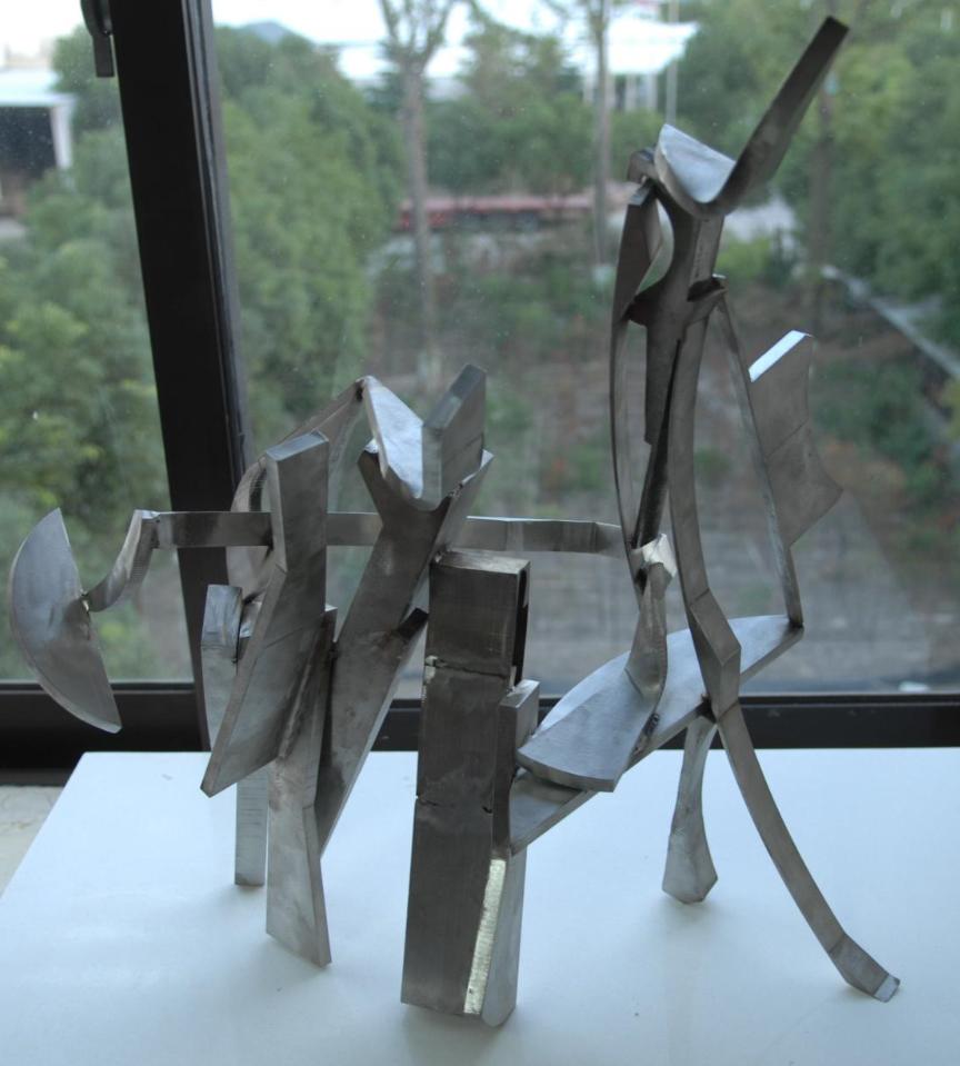 Grey Abstract 1